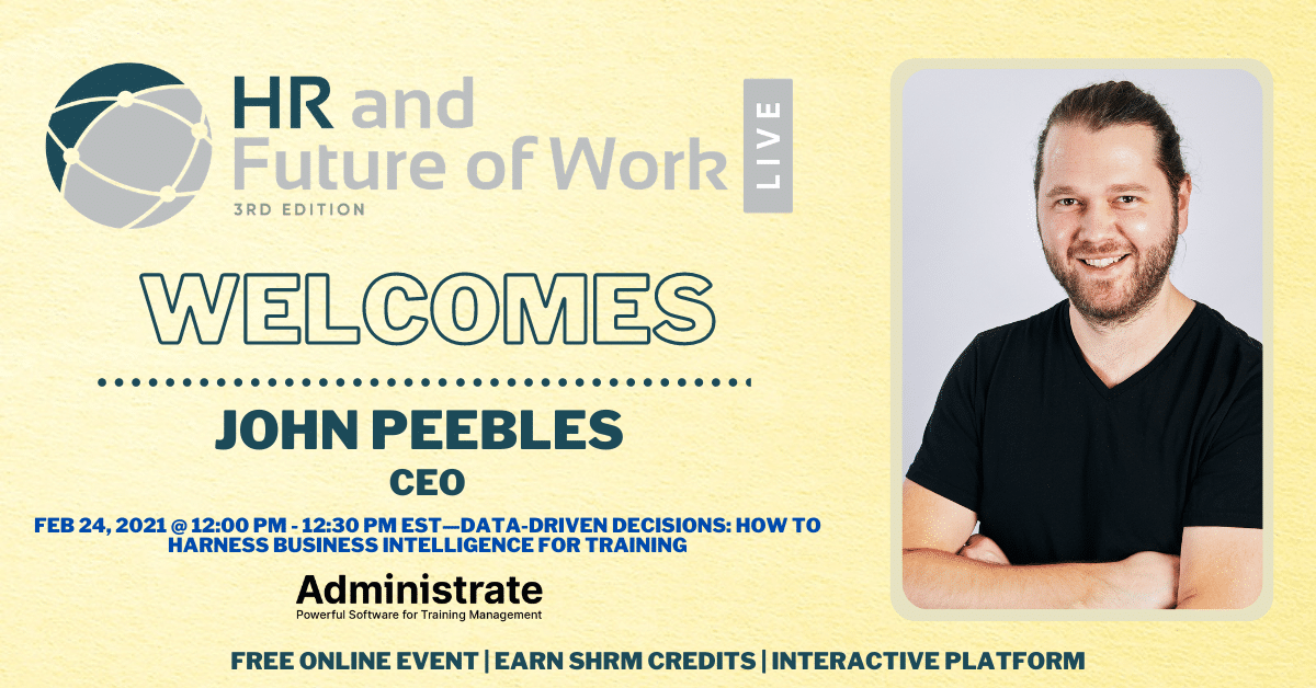 Register Today for this HREN Session with John Peebles